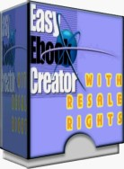 Easy Ebook Creator Boxcover