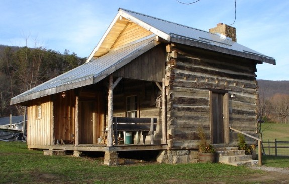 The A.P. Carter Homeplace Cabin at The Carter Fold