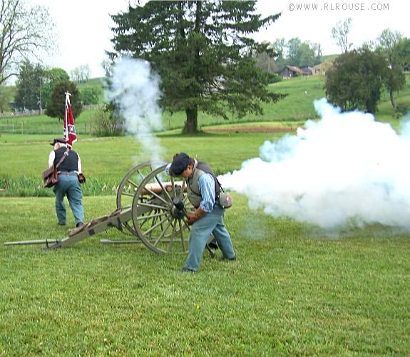 Blast From A Civil War Era Cannon