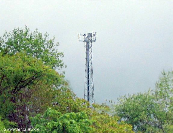 A Hilltop Cell Phone Tower