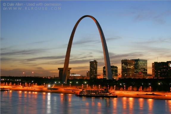 Gateway Arch on Westward Expansion And The Mississippi River