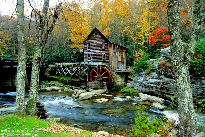 Tiny Home Designs: Glade Creek Grist Mill