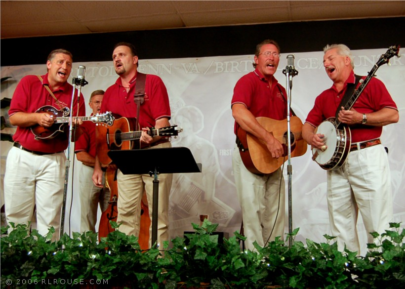Bluegrass-Gospel group Gospel Grass