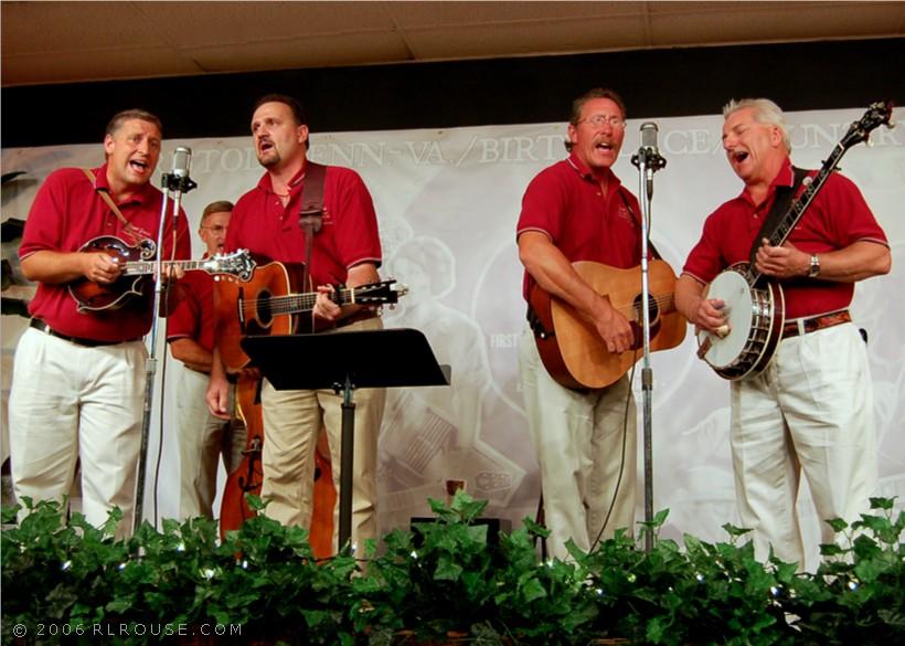 Bluegrass-Gospel group Gospel Grass
