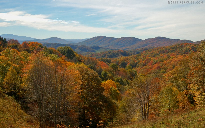 Mountains of Western North Carolina:
