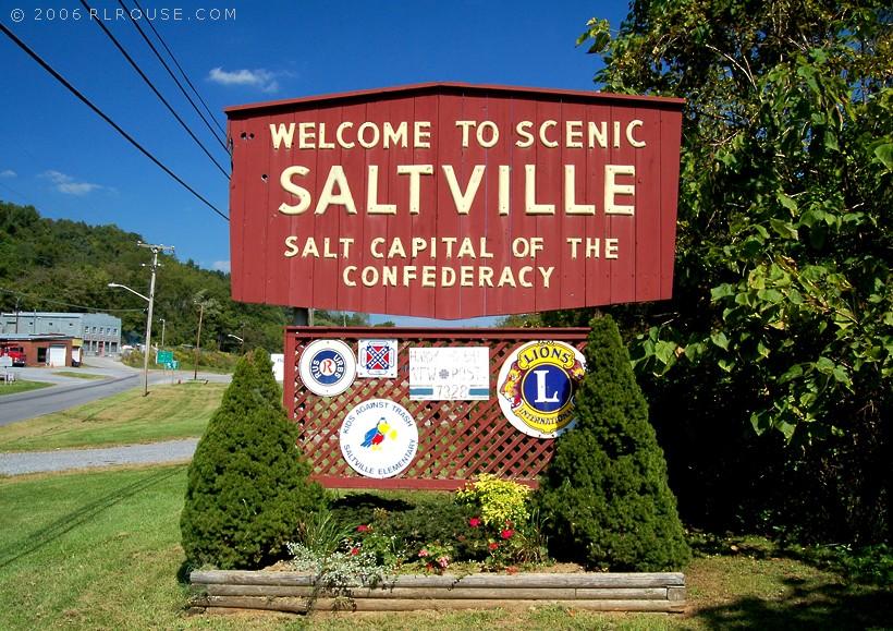 Welcome to Saltville, Va.